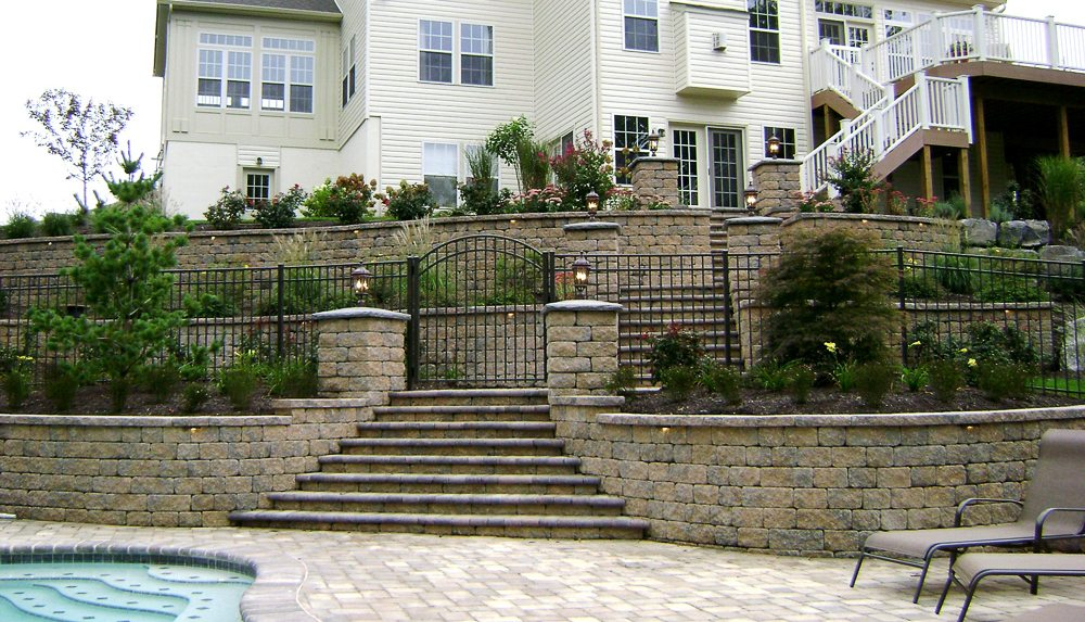 Gates and Fencing Construction at New Castle Lawn and Landscape